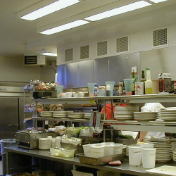 Restaurant Kitchen Lighting chicagowater grill in jonesville, michigan. restaurant lighting
