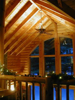 This One Of Kuhns Bros Log Homes Was Featured In Log